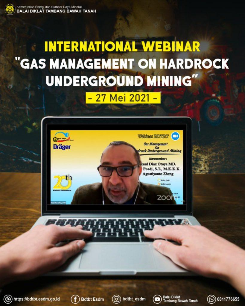 Webinar Gas Management on Hardrock Underground Mininng